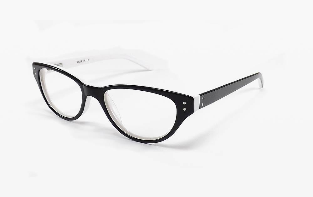 Œil de chat lunettes de vue pour femmes -