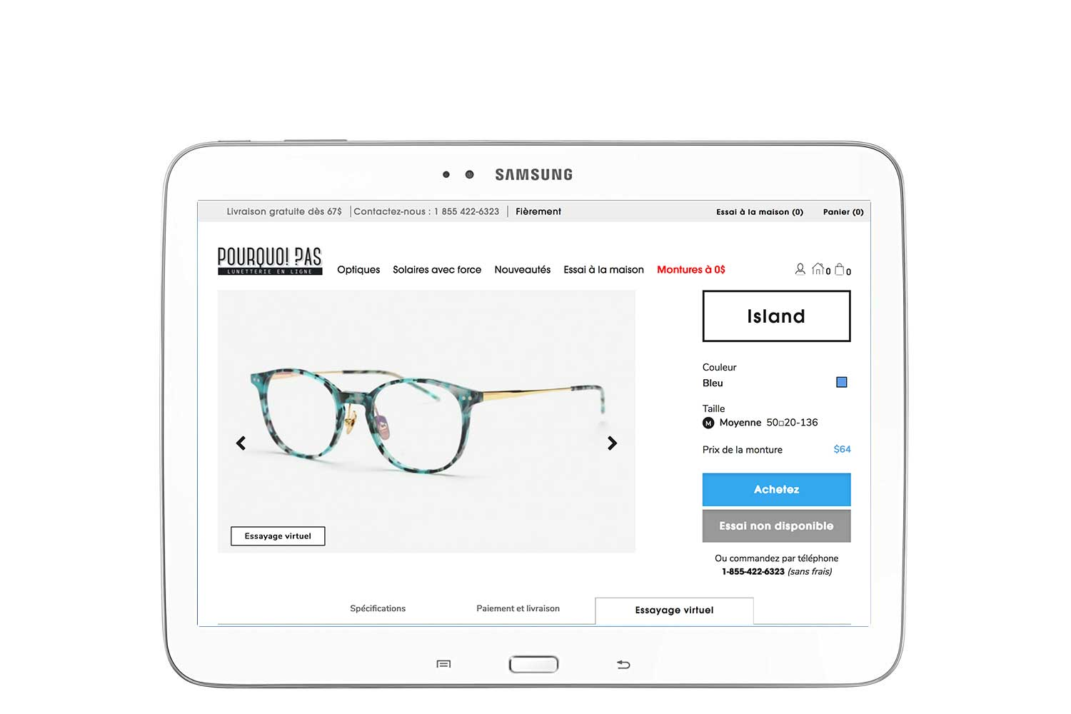 How to try online - Lunetterie Pourquoi Pas Eyewear