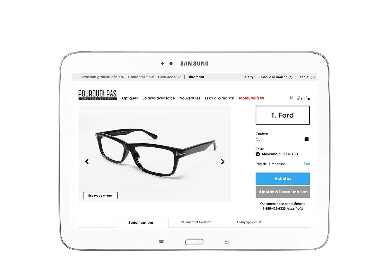 lunettes en ligne, choisir sa monture