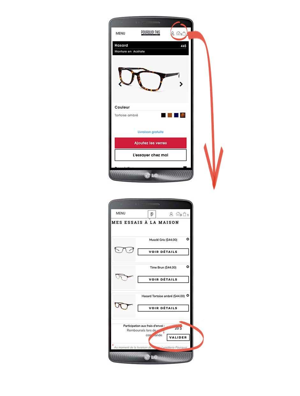 lunettes en ligne, choisir ses verres de prescription